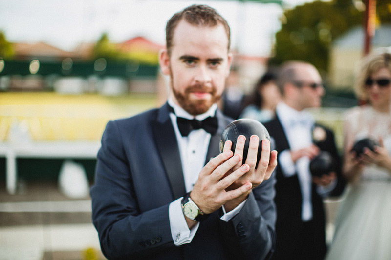Greg and Kylieand#039;s amazing alternative wedding featuring a cinema and lawn bowls (77)