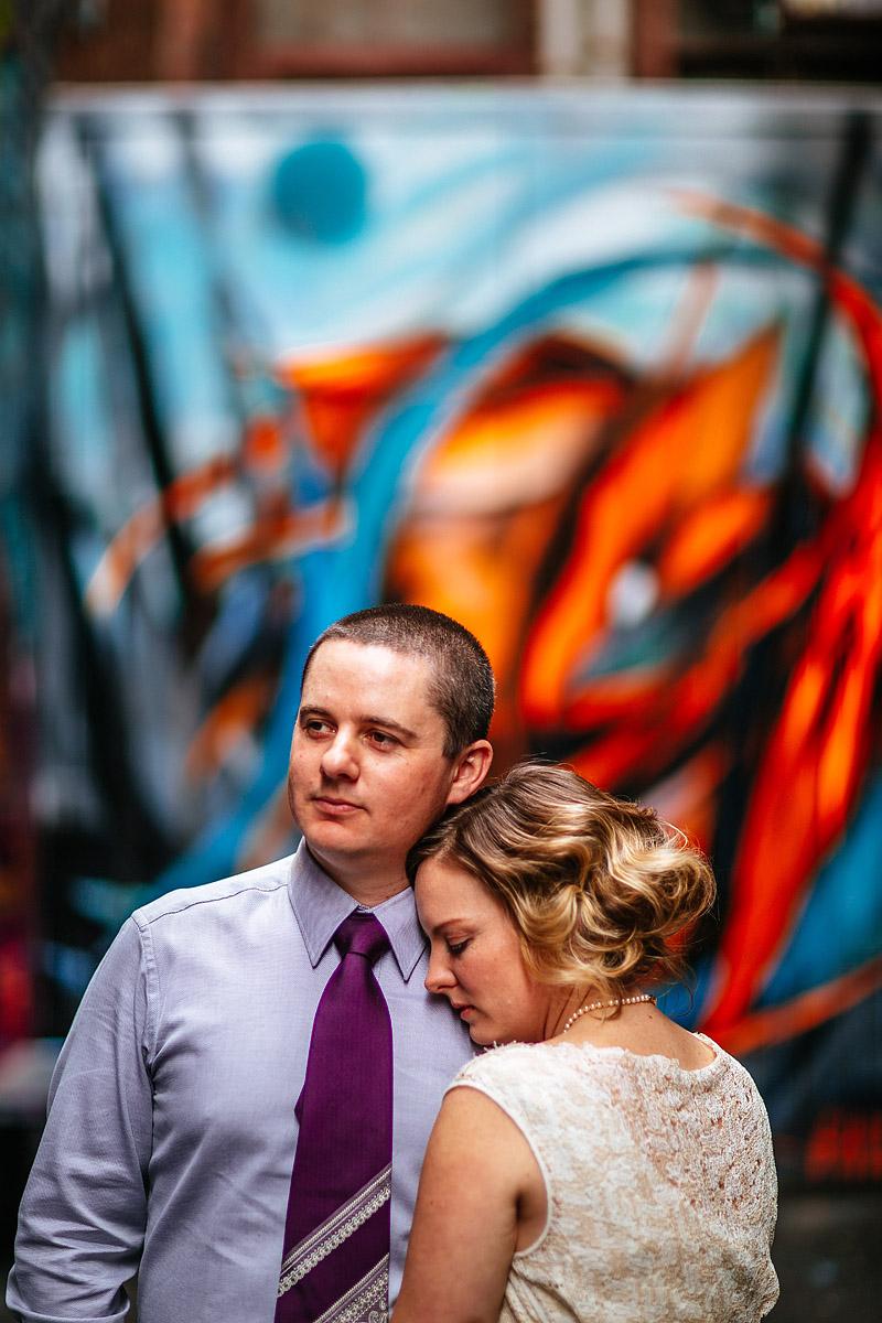 Anna and Luke's Intimate CBD wedding